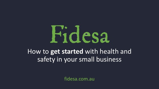 [VIDEO] How to get started with health and safety in your small business